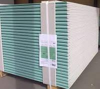 Гипсокартон стеновой влагостойкий ГКСВ 12.5мм 1.2*2.5м Кнауф