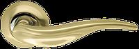 Дверные ручки Armadillo Lora матовое золото/хром