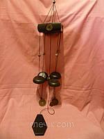 Китайский металлический колокольчик 70 сантиметров высота.