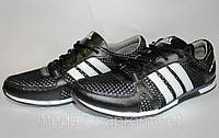 Мужские кожаные кроссовки Adidas Clima сетка