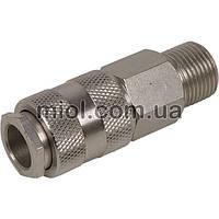 Соединение быстросъемное с клапаном Miol 81-232 наружная резьба