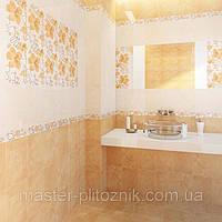 Плитка облицовочная  для ванных комнат  и кухонь Карат