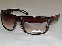Солнцезащитные очки мужские AOLISE, коричневые линзы с градиентом 800103