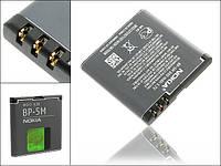 Аккумулятор для nokia bp 5m 7390, 6110, 6500s, 5700 копия