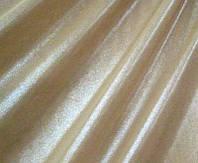 Стрейч-сетка телесная с оттенком загара и серебряным напылением