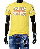 Летняя молодежная футболка в с британским флагом