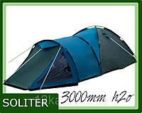 Палатка Presto SOLITER 4 клеенные швы тамбур