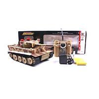 """Модель боевого танка """"Tiger"""" Тигр 518-02 на радиоуправлении."""