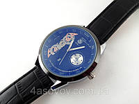 Мужские часы TAG Heuer - Micro Tourbillon цвет корпуса серебро, черный циферблат, кварцевые, дата