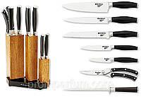 Набор кухонных ножей Grossman 07 I с подставкой MHR /64-43