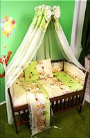 Детское постельное белье в кроватку.