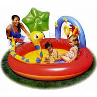 Детский надувной игровой центр «Удавчик с фонтаном»