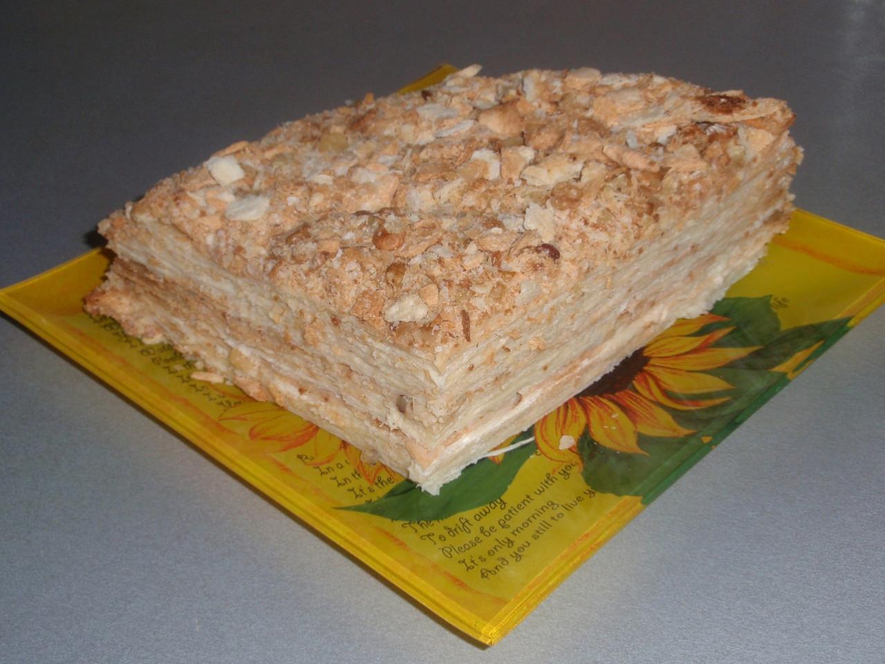 Вкусный наполеон пошаговое фото