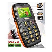 Телефон ADMET B30 Противоударный (2sim, мощная батарея 5000 mAh, фонарик, 3D Yamaha Sound)