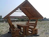 Альтанка беседка деревянная