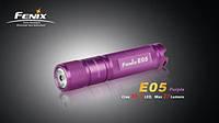Фонарик светодиодный Fenix E05 R2 Фиолетовый
