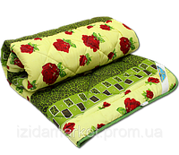 Силиконовое двуспальное одеяло - ткань полиестр