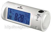 Часы с проектором будильник термометр 8097