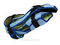 Рюкзак кенгуру переноска 3 положения Womar Blue.L