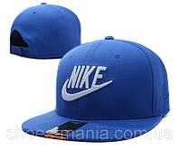 Кепка с прямым козырьком Nike Snapback синяя