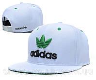 Кепка с прямым козырьком Adidas Snapback white