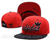 Кепка с прямым козырьком Adidas Snapback red-black