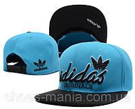 Кепка с прямым козырьком Adidas Snapback blue-black