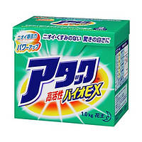 KAO Attack Bio EX  Концентрированный стиральный био-порошок без фосфатов 1кг