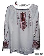 Женская вышитая сорочка ручной работы Раиса