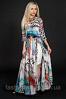Женское шифоновое платье в пол оптом и в розницу