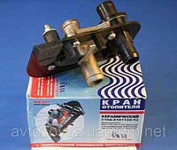 Кран отопителя керамический (Россия) ВАЗ 2108-2115