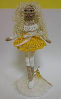 Детская Игрушка Девочка Ангел вязаная крючком