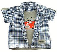 Рубашка для мальчика. 2-3 года/92-98см и 7-8/128-134см
