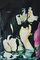 Мужская футболка с модным принтом
