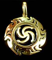 Символ Рода в Солнышке позол. 4