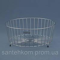 Корзина к кухонной мойке круглая Ukinox SB 490 (SBR 290) нержавеющая сталь