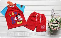 """Шорты и футболка на мальчика """"Микки Маус"""""""