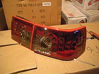 Задние стопы на ВАЗ 2110 Картечь (темно-красные)