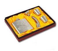 Набор подарочный (фляга, рюмки, лейка, штопор) F 3-24