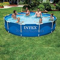Каркасные бассейны круглые Intex 28210 (366-76 см.)