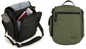 Практичная городская сумка Snugpak Utility Pack черная, оливковая