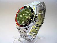 Механические часы РЕКОРД marine, автозавод, цвет корпуса серебристый, мужской стиль