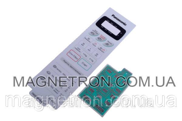 Сенсорная панель управления для СВЧ печи Panasonic NN-GX36WF F630Y6B70HZP, фото 2