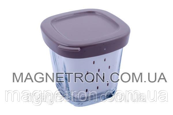 Баночка (стаканчик) с крышечкой для йогуртницы Tefal SS-193386, фото 2