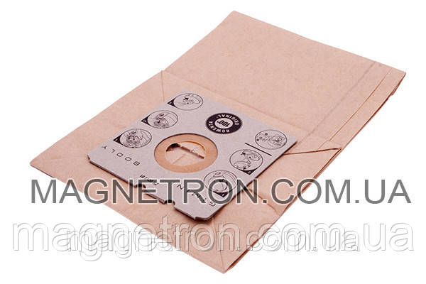 Мешок бумажный с микрофильтром мотора для пылесоса Rowenta ZR001701, фото 2