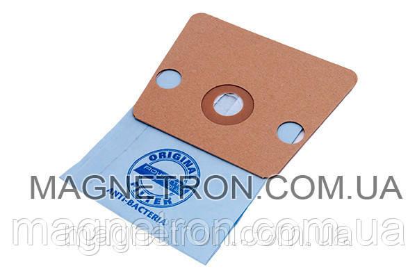 Мешок бумажный (6шт) + 2 микрофильтра мотора для пылесоса Rowenta ZR480 (аксессуар), фото 2