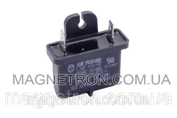 Конденсатор для кондиционера 1.5uF 370V, фото 2