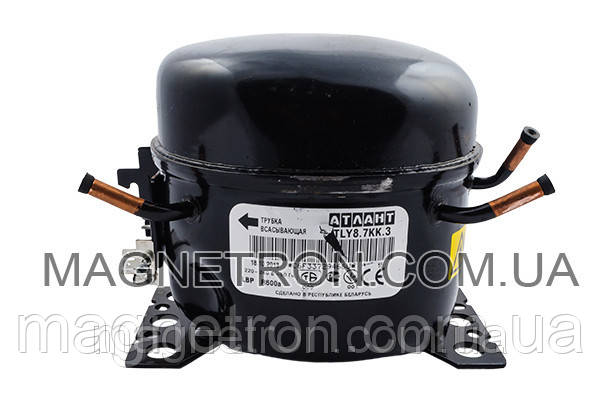 Компрессор для холодильников TLY 8.7 KK3 R600a Атлант 069744106206, фото 2