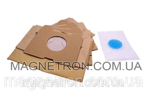 Набор бумажных мешков для пылесоса Philips ATHENA HR6947 482201570058, фото 2