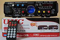 Усилитель UKC AV-120 2 x 150 Вт + Караоке